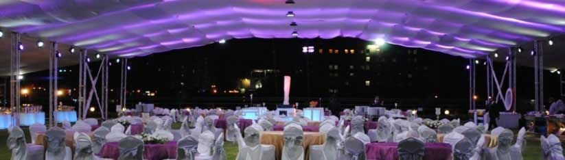 Banquet space for a wedding in Pune